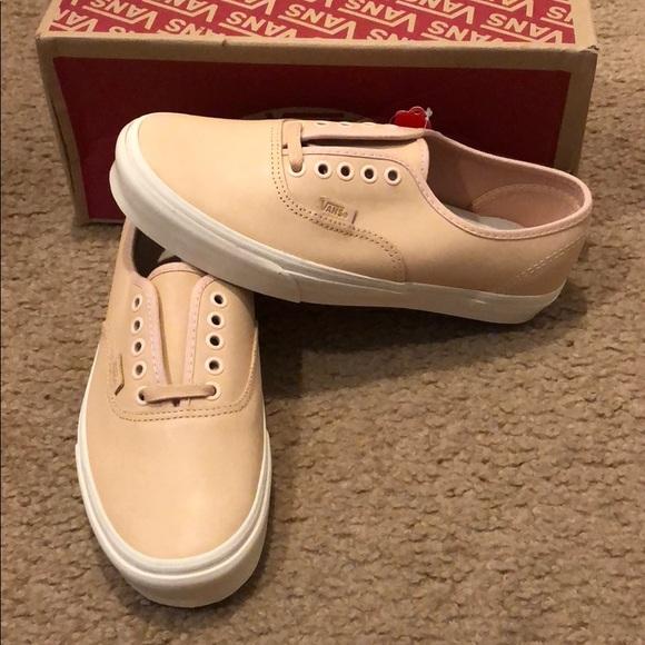 29f916f4a828 Veggie Tan Leather Authentic DX Vans